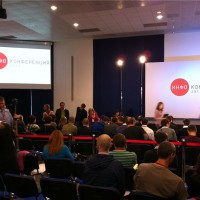 Перерыв между выступлениями на Инфоконференции 2012