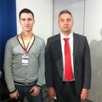 Я с Андреем Парабеллумом на Инфоконференции 2012