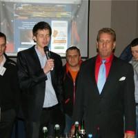 Андрей Полищук и Ларри Лоик открывают вечеринку-3