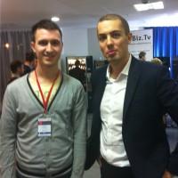 Я с Николаем Мрочковским на Инфоконференции 2012