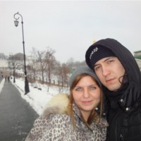 С любимой супругой