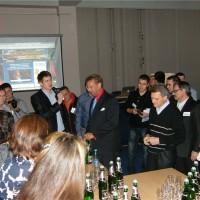 Андрей Полищук и Ларри Лоик открывают вечеринку